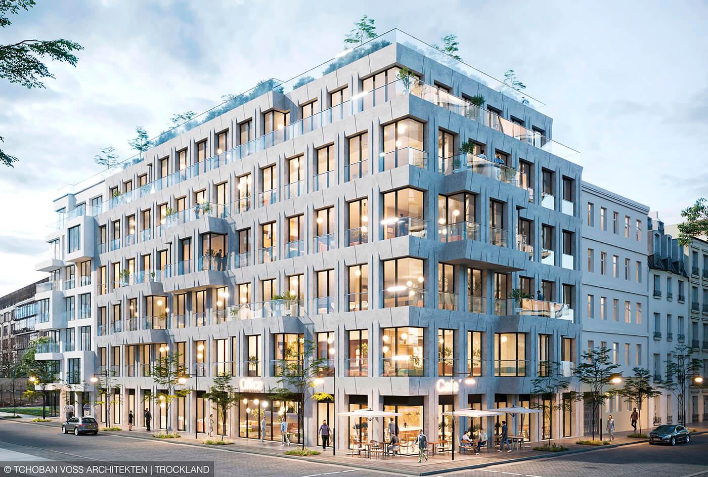 LINUS Digital Finance arbeitet erstmals mit Trockland Management bei der Finanzierung eines Office- und Apartment-Projekts in Berlin- Mitte zusammen