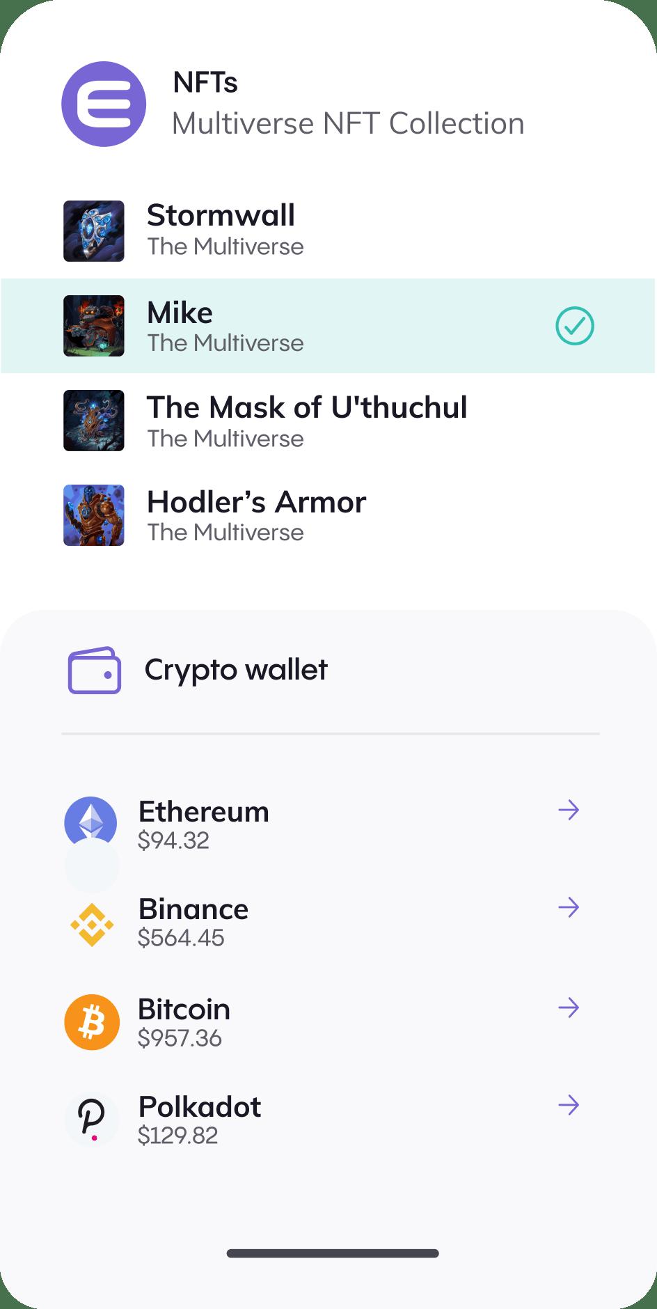 Wallet Mobile Image