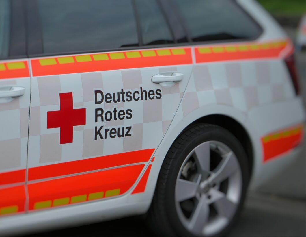 Fahrzeug des roten Kreuzes