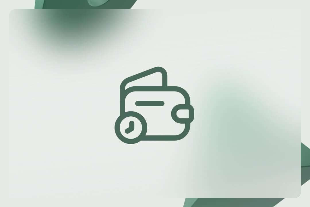 Designelement mit Icon