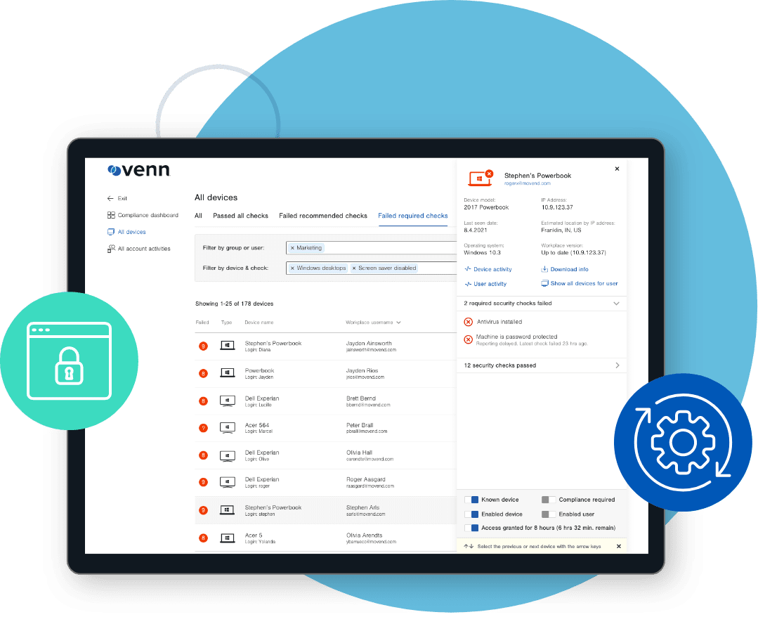 Venn platform helps banking industry with compliance