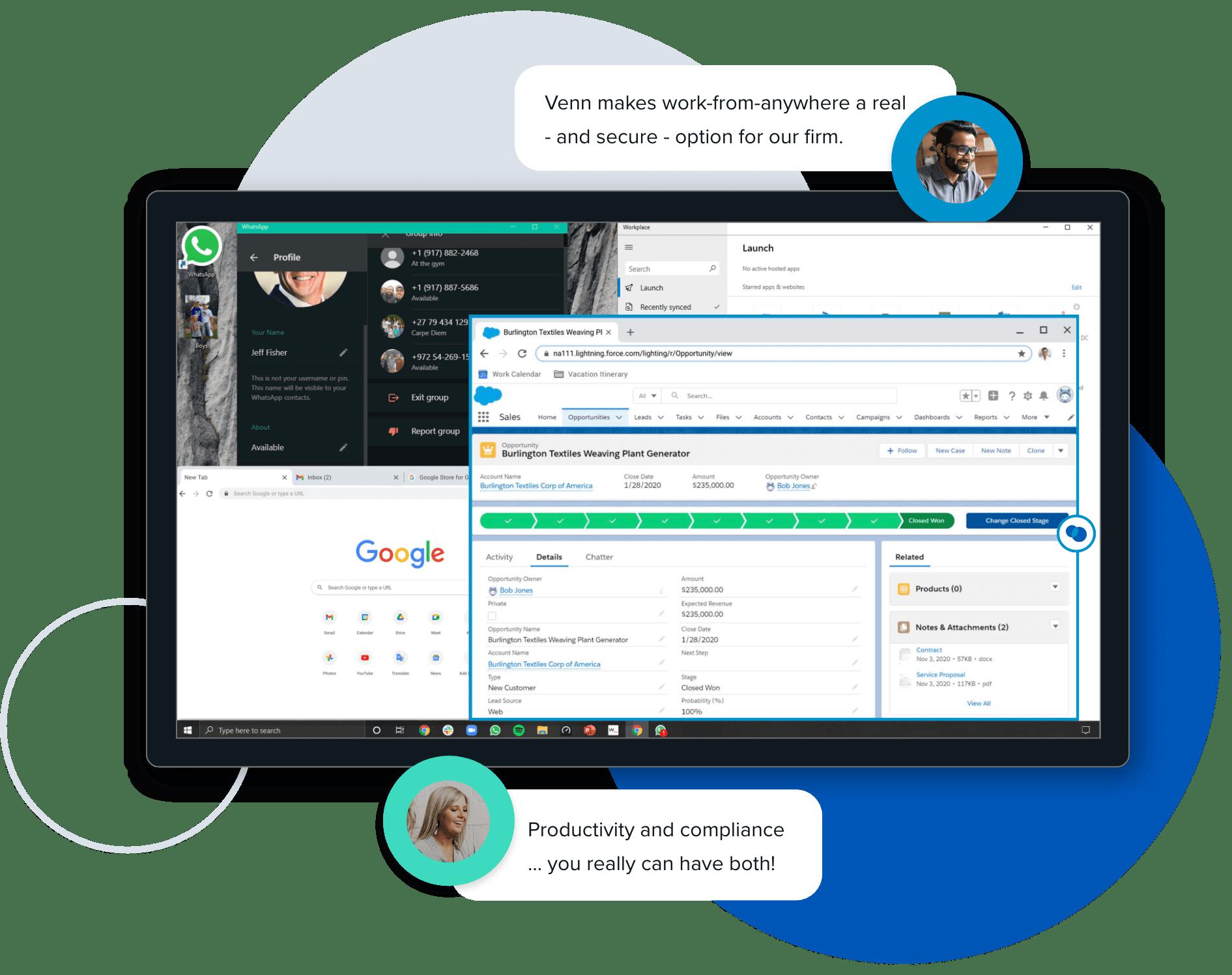 Venn Access Client product screenshot