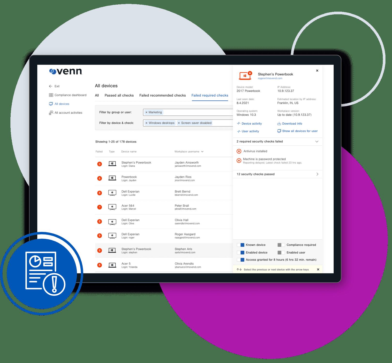 Venn Compliance Center