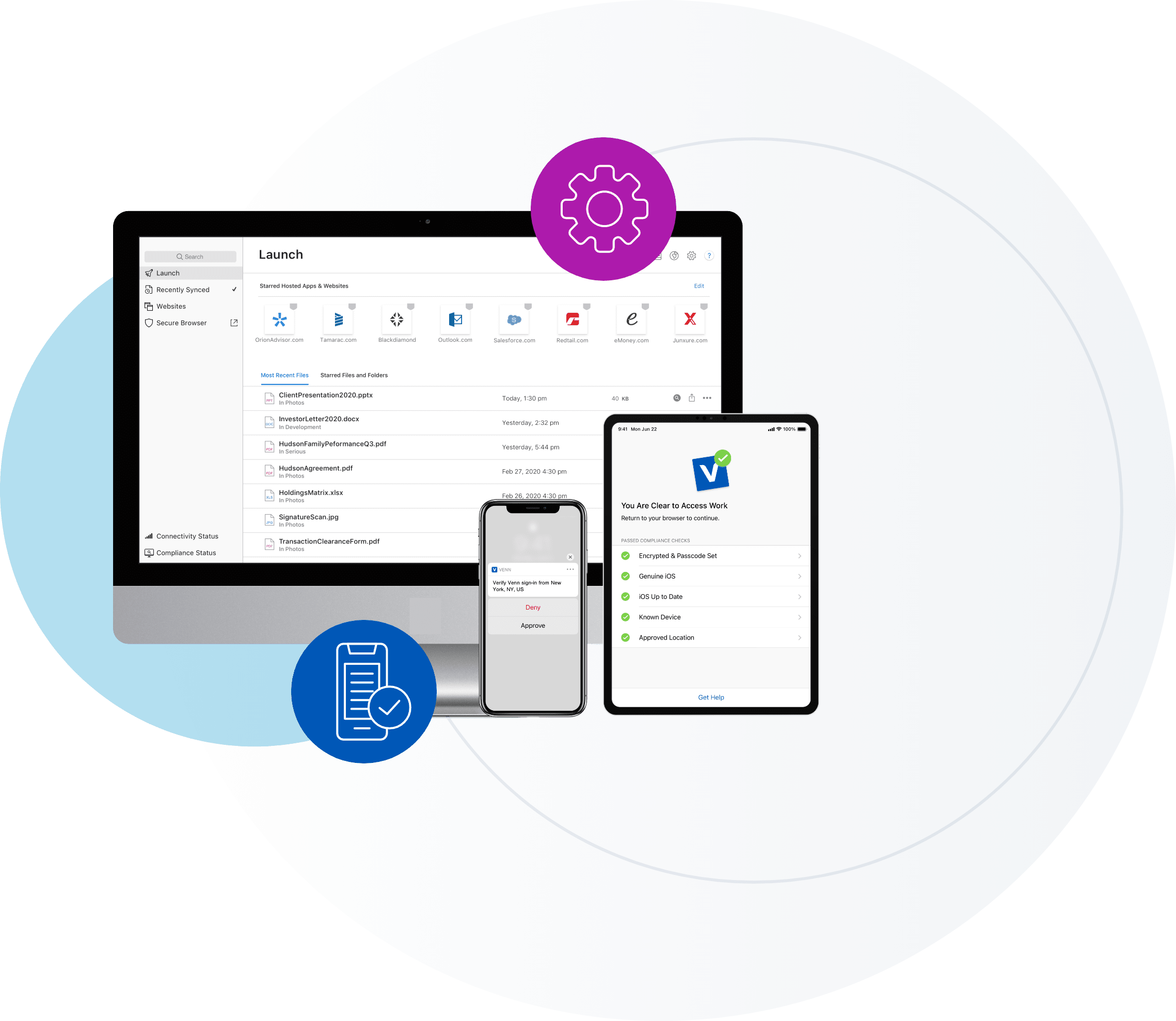 Venn removes the need for MDMs and VPNs