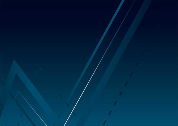 Lines in navy background