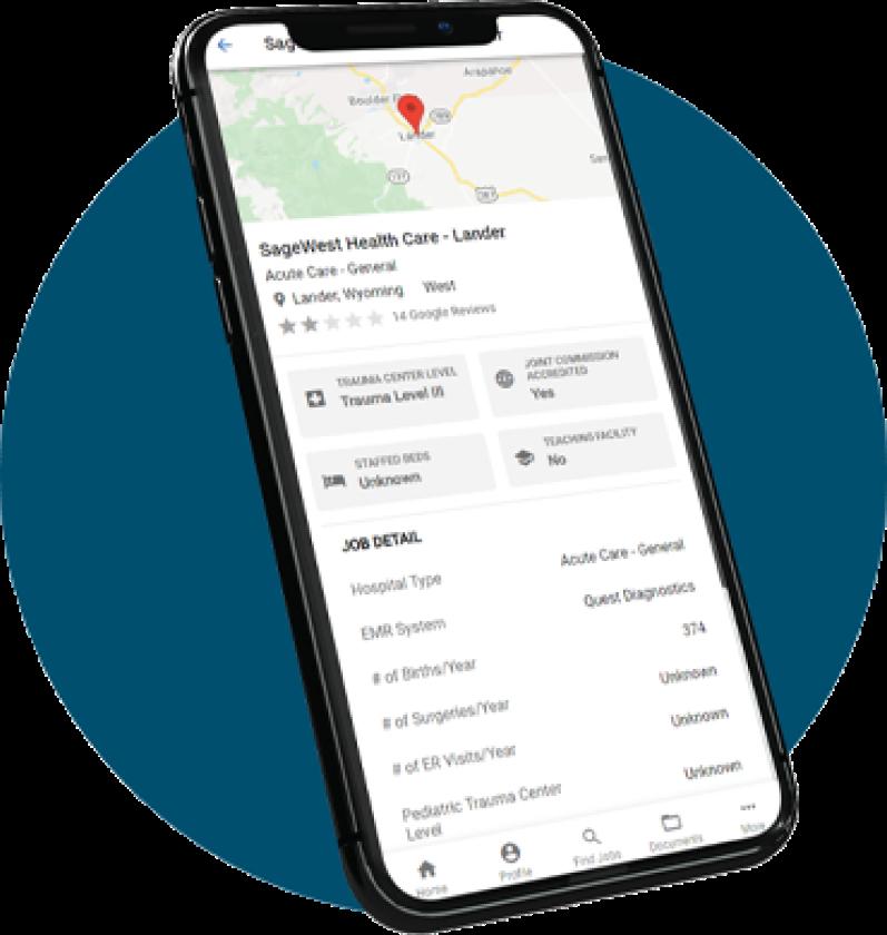 MSO on-demand travel nurse app