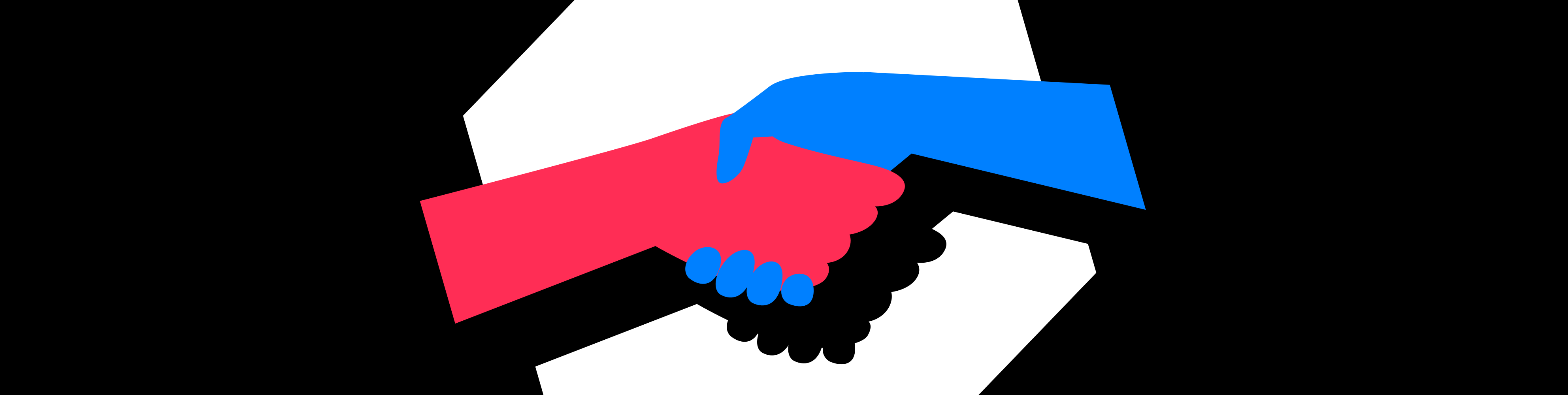 Illustration of a shake of hands