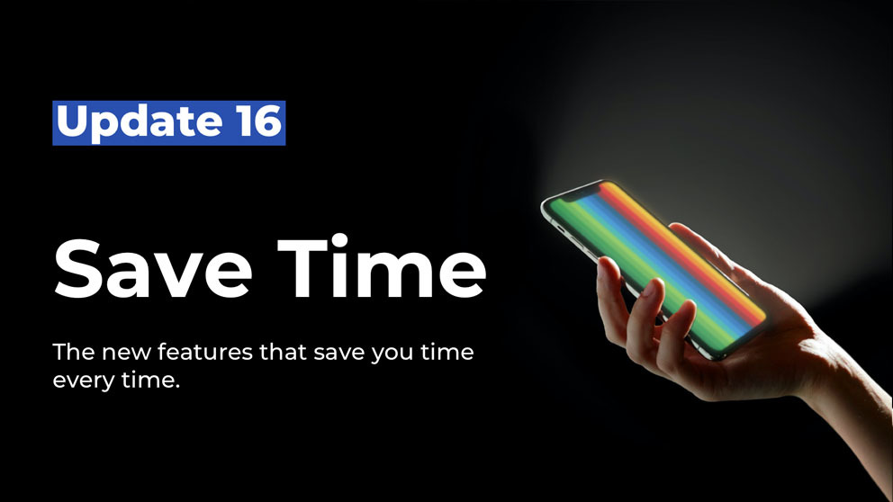 bunq Update 17 Save Time banner