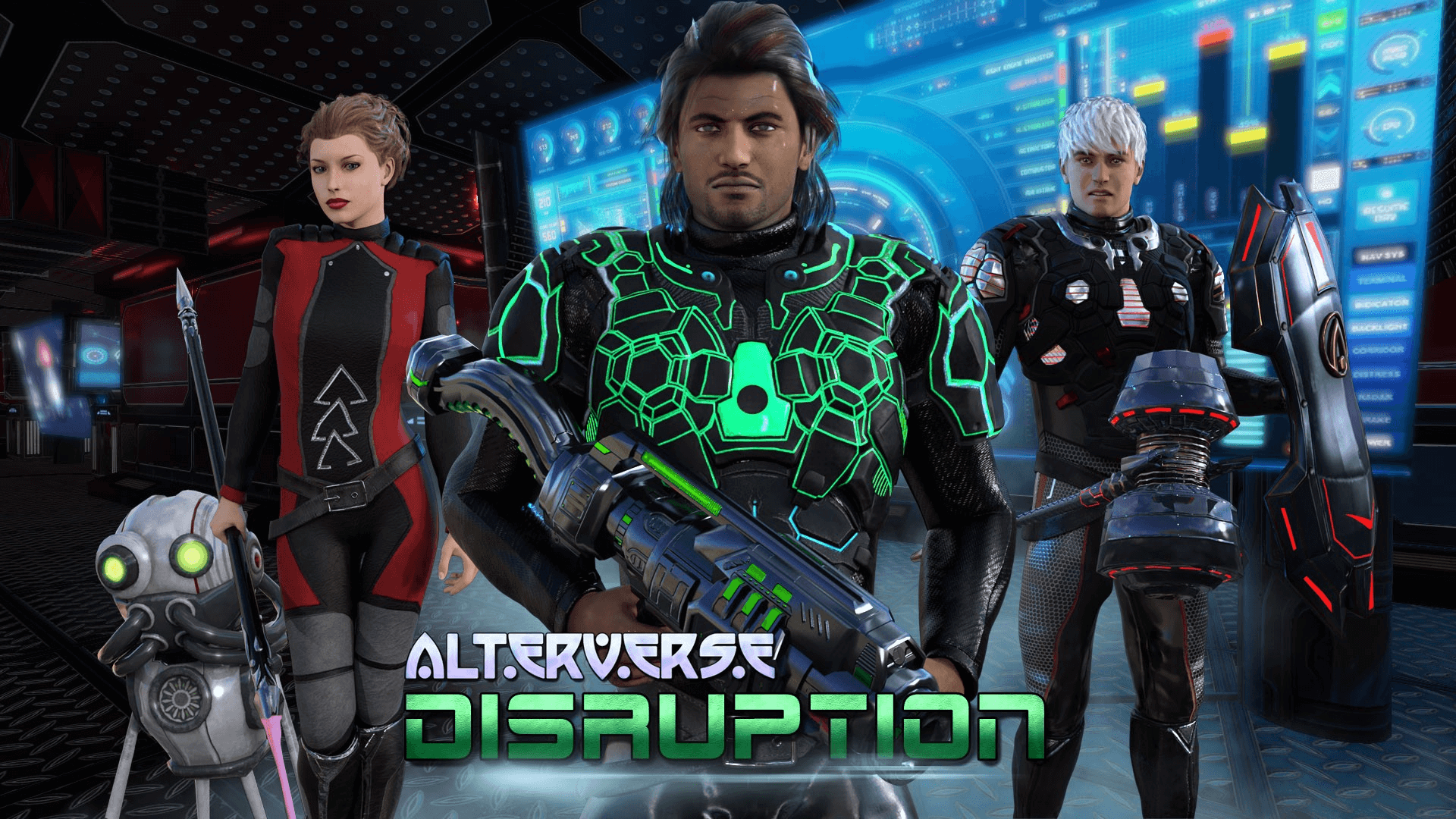 AlterVerse: Disruption Live on Steam