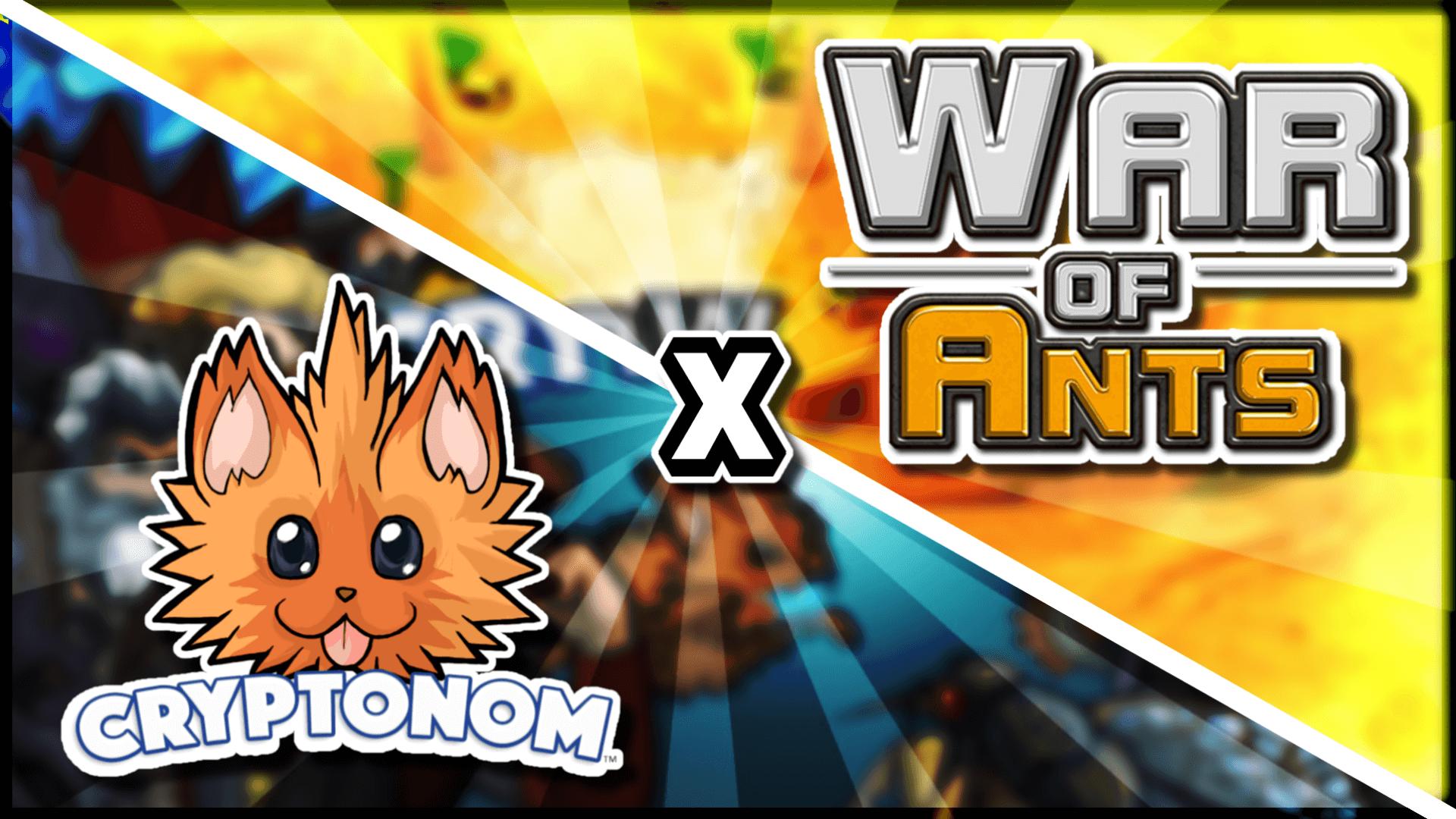 War of Ants x Cryptonom NFT Collab