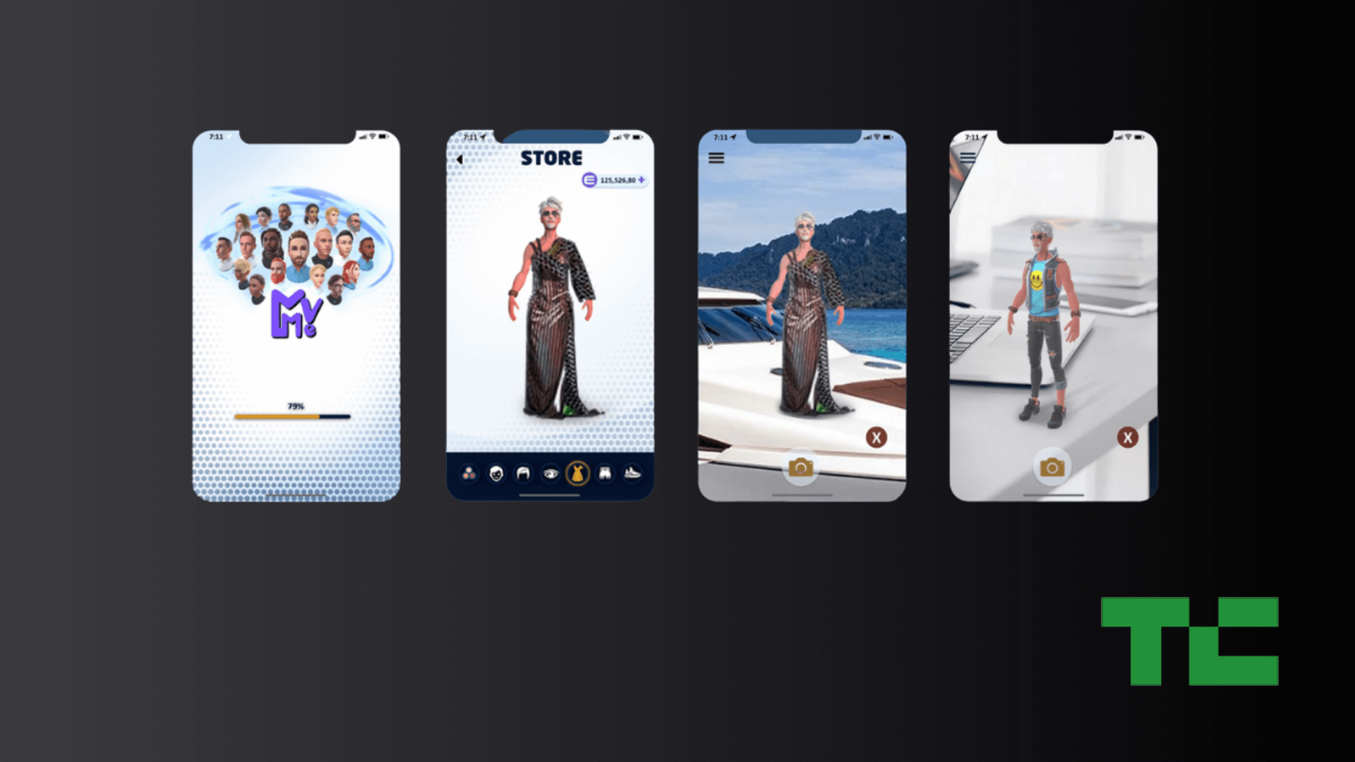 Augmented Reality Digital Fashion NFTs featured in TechCrunch Japan