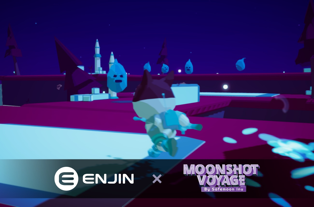 Moonshot Voyage: Play-to-Earn Blockchain Shooter Joins Enjin