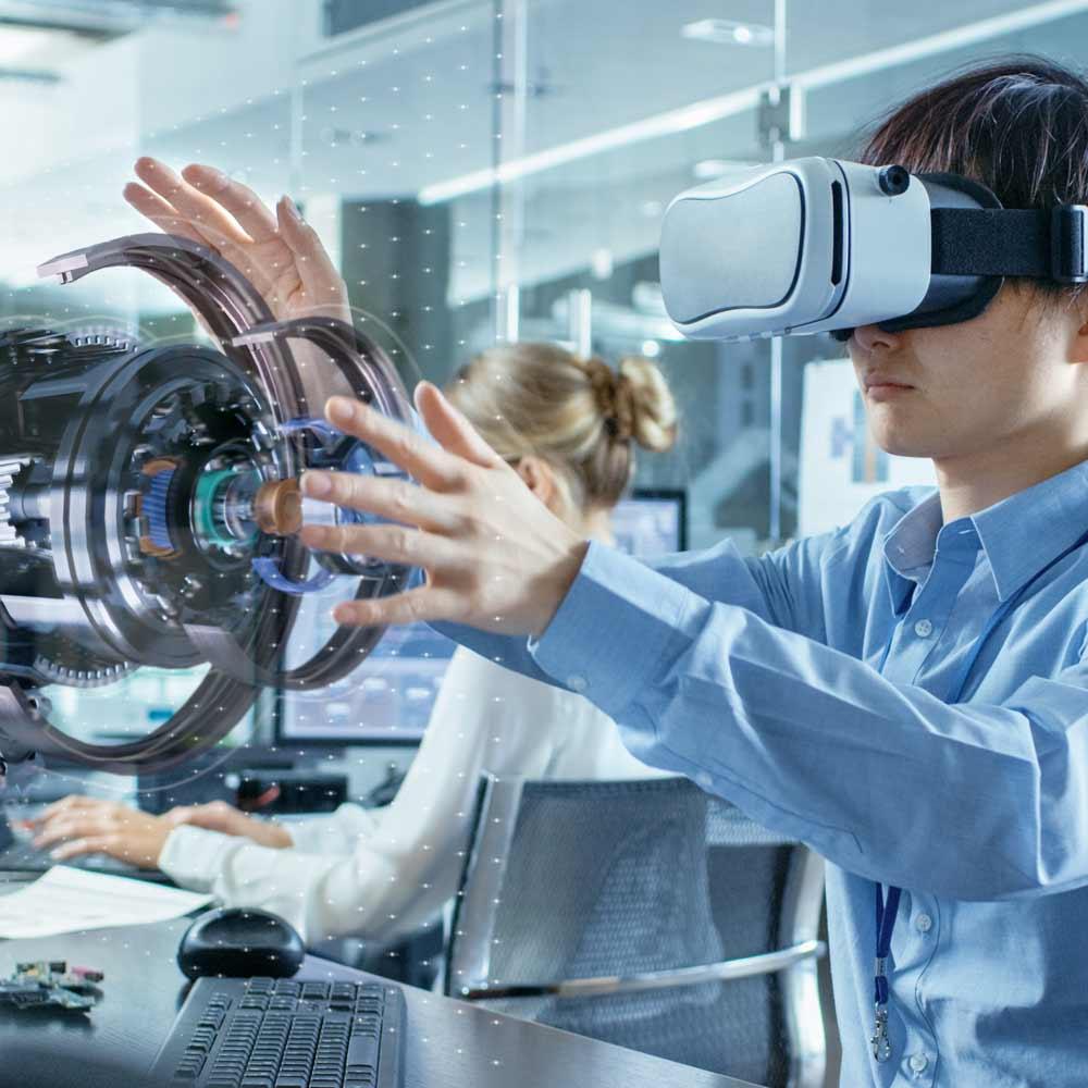 EDAG VR in application