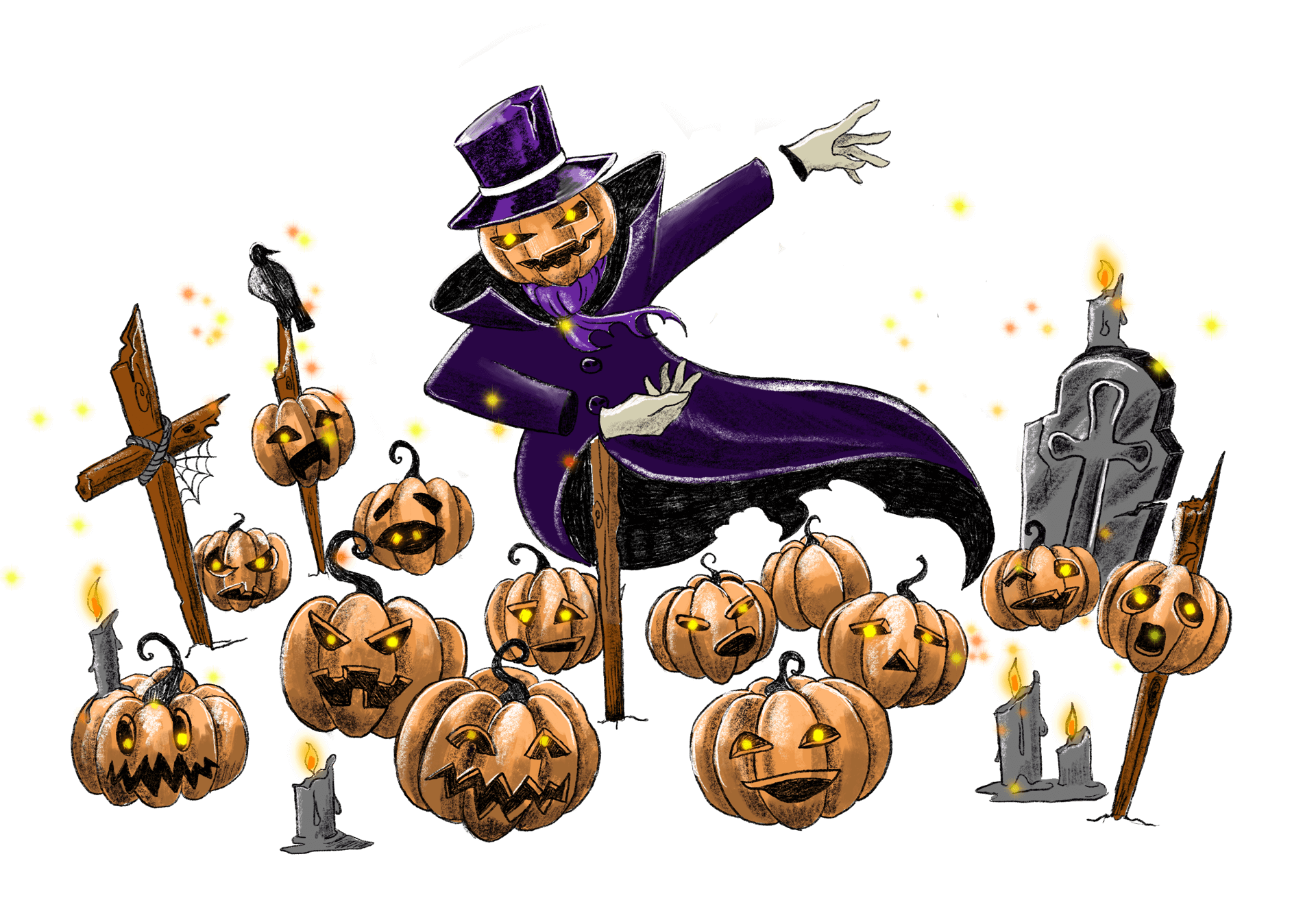 Spooky Spectacles Pumpkin Choir