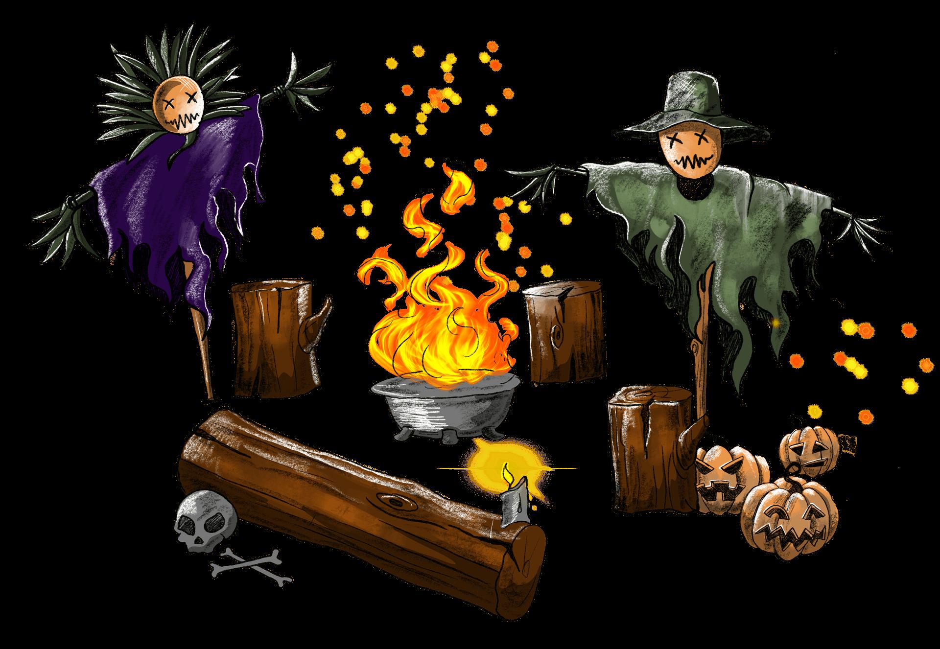 Spooky Spectacles Scarecrow Point Inn