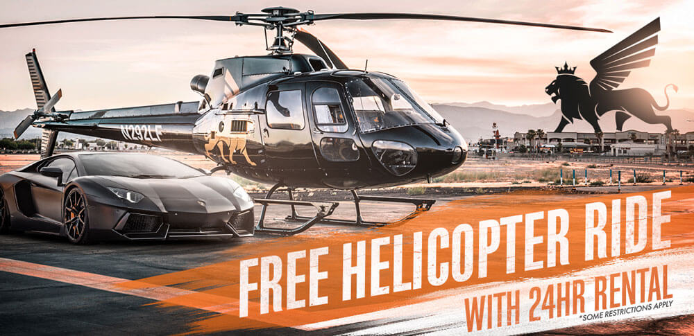 Free Helicopter Tour Promo