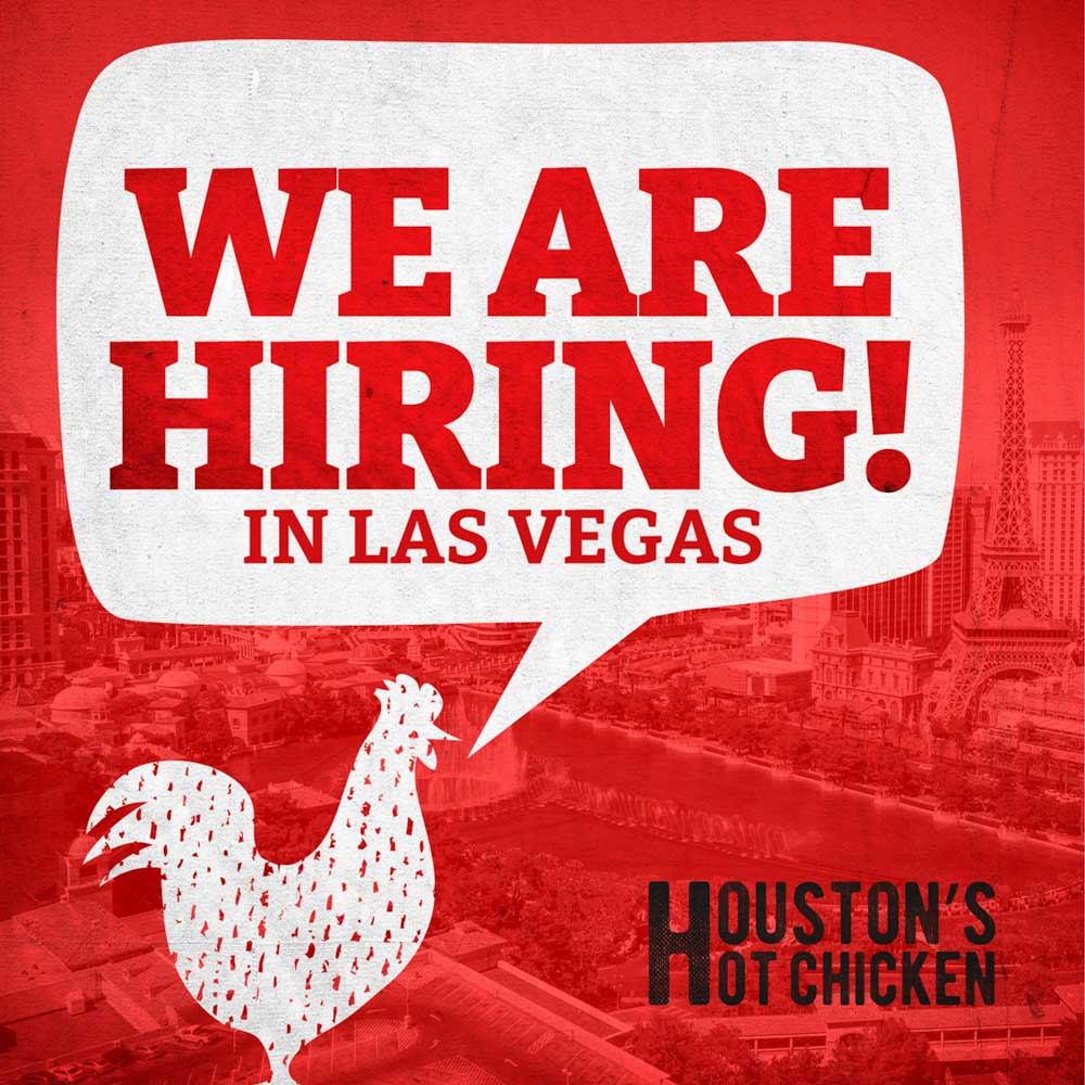 Houston's Hot Chicken is hiring