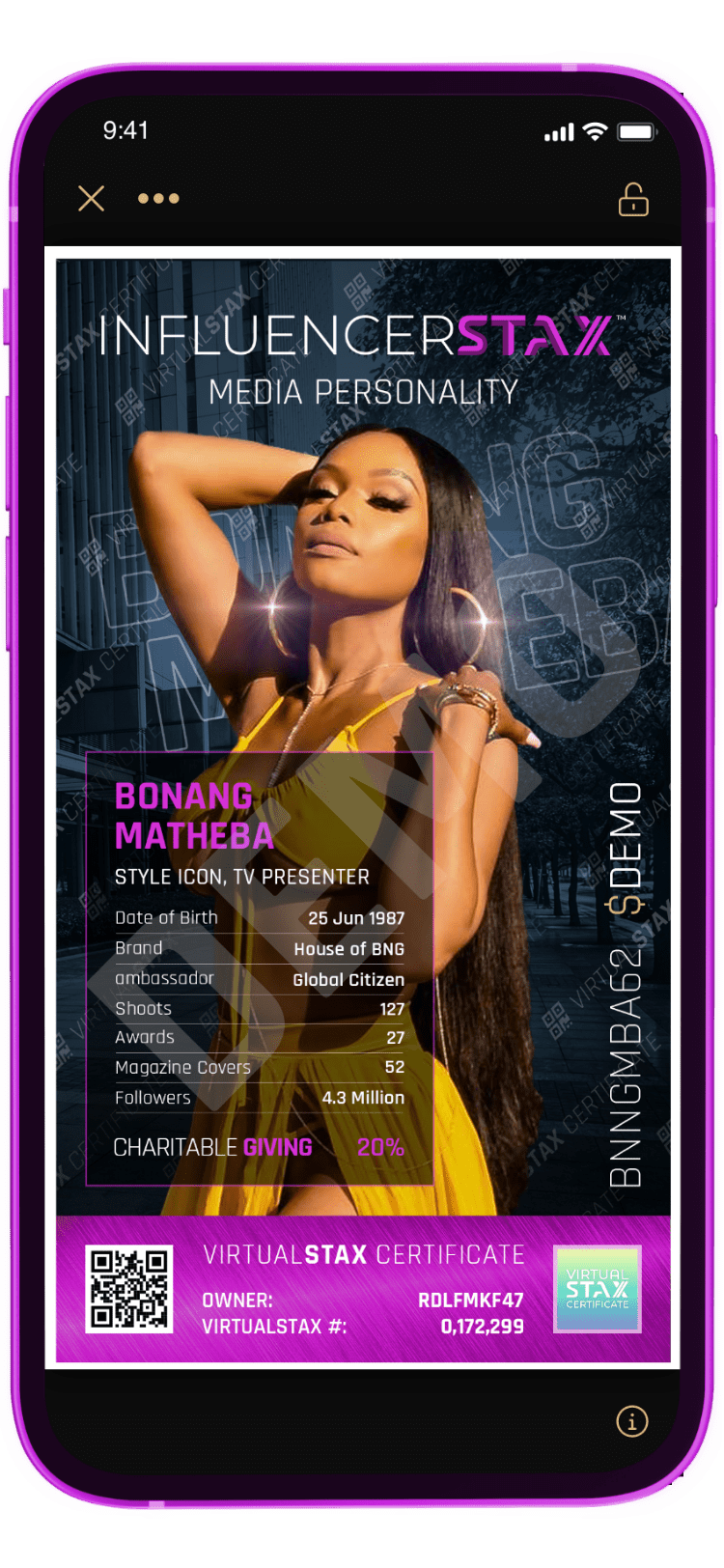 IX App Bonang Matheba