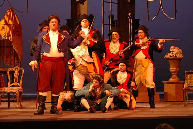 Theatre show HAMILTON