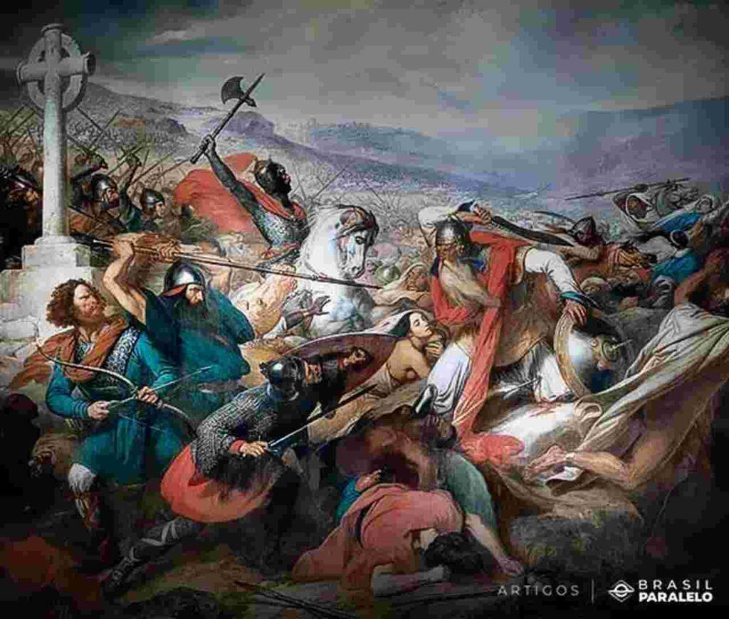 Batalha-de-Poitiers-na-reconquista-da-peninsula-iberica