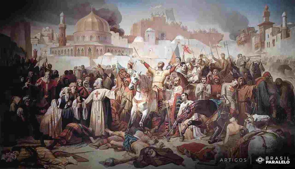 As-cruzadas-e-sua-participacao-nas-batalhas-de-reconquista