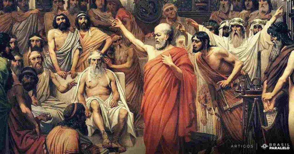 Socrates-e-o-metodo-da-maieutica-questionando-em-Atenas