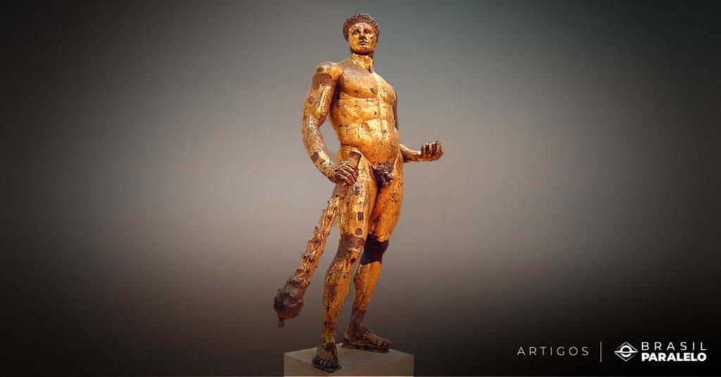 hercules-inserido-na-hera-heroica-da-mitologia-grega