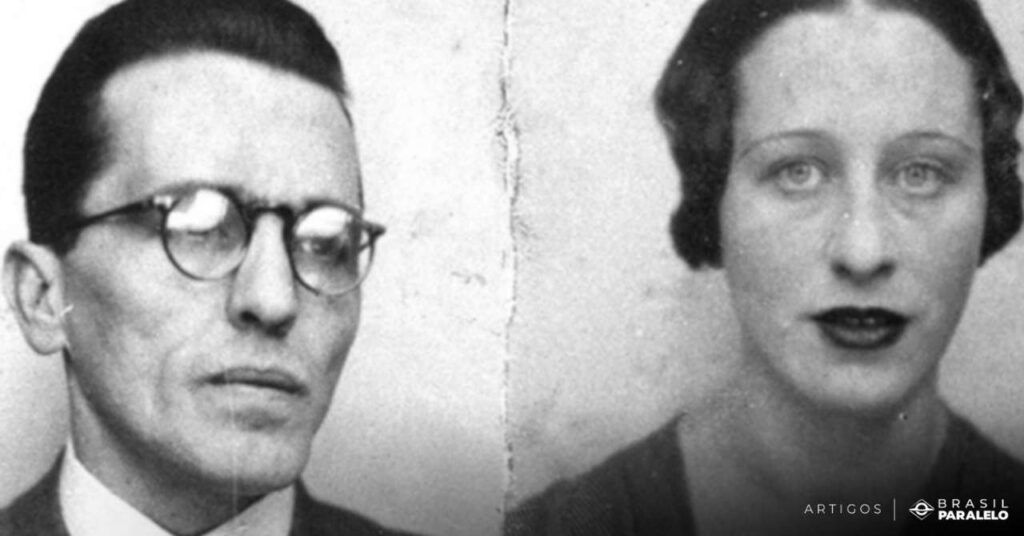 Luiz-Carlos-Prestes-e-Olga-Benario-comunistas-que-tentaram-a-Intentona-no-governo-Vargas