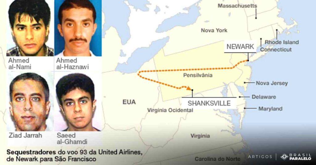 os-4-terroristas-que-sequestraram-o-voo-93-em-Sao-Francisco
