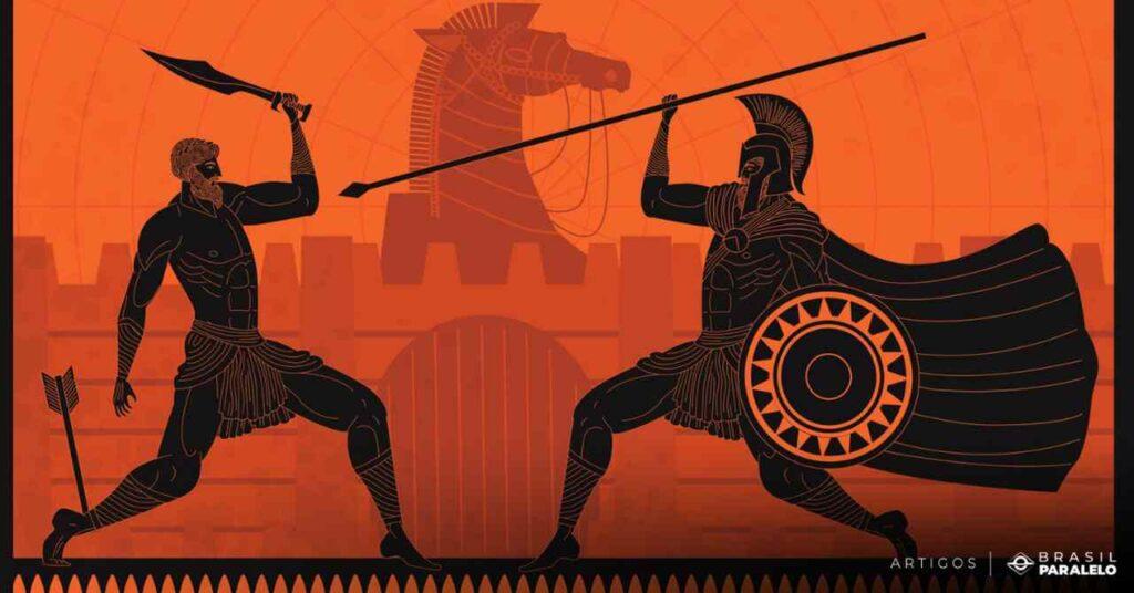 A-guerra-de-troia-e-o-presente-grego-o-cavalo-de-troia