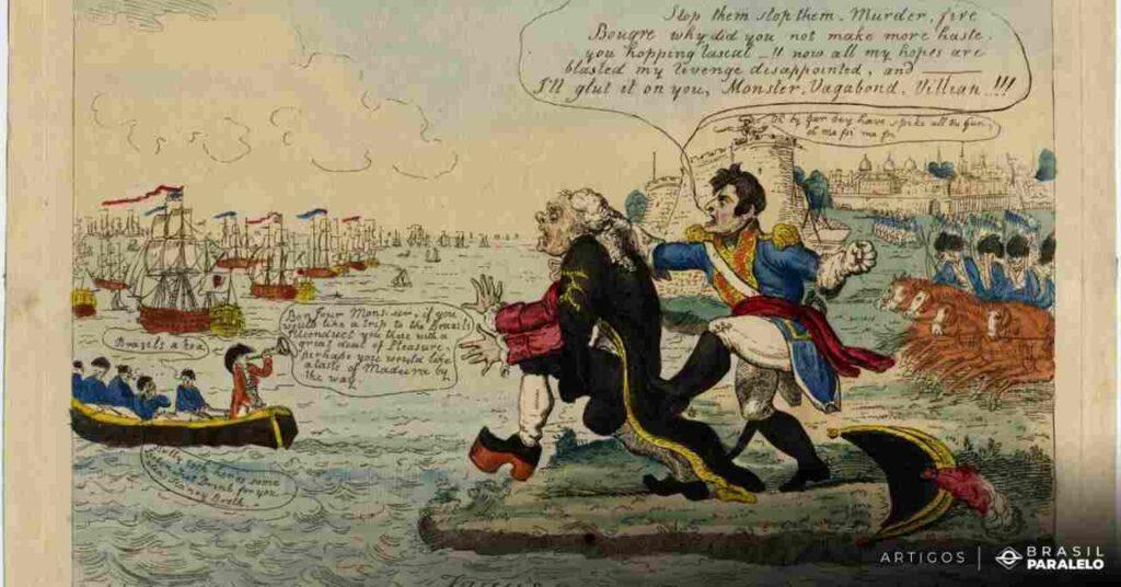 Franceses-ficaram-a-ver-navios-quando-a-familia-real-deixou-portual