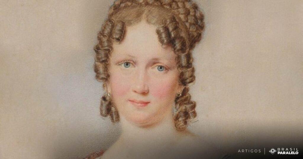 Imperatriz-Leopoldina-esposa-de-Dom-Pedro-I-no-Primeiro-Reinado