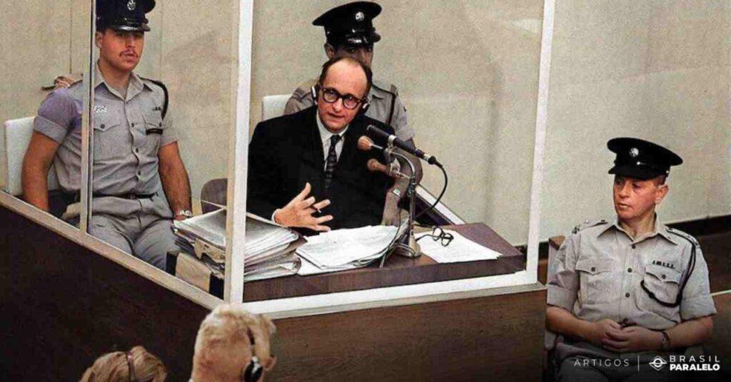 Adolf-Eichmann-fugiu-para-a-Argentina-mas-foi-preso-e-julgado
