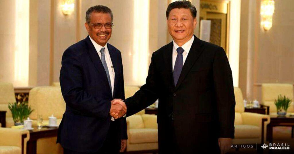 Tedros-presidente-da-OMS-e-o-presidente-da-China-Xi-Jinping
