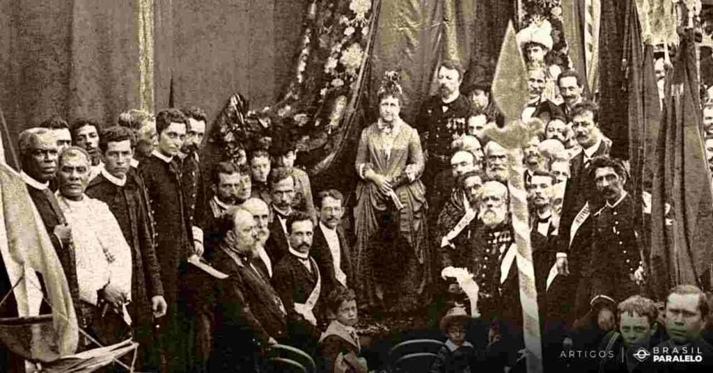Princesa-Isabel-e-a-assinatura-da-Lei-Aurea-abolindo-a-escravidao-no-Brasil