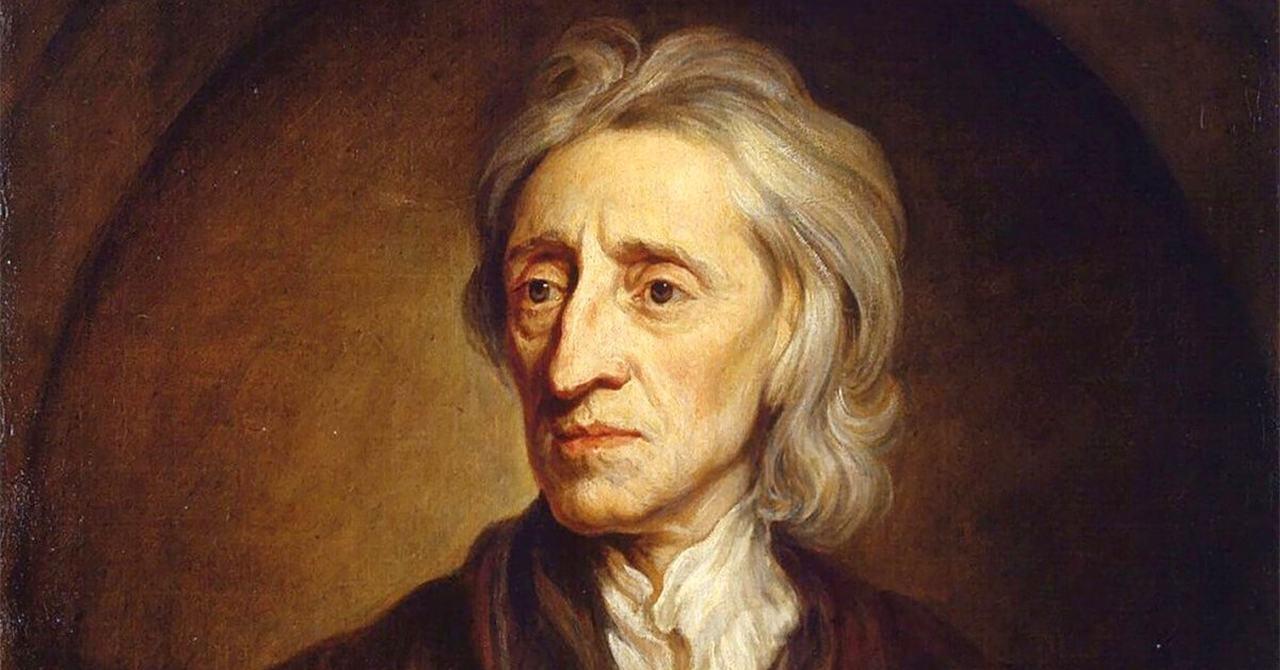principais pensadores iluministas como Locke