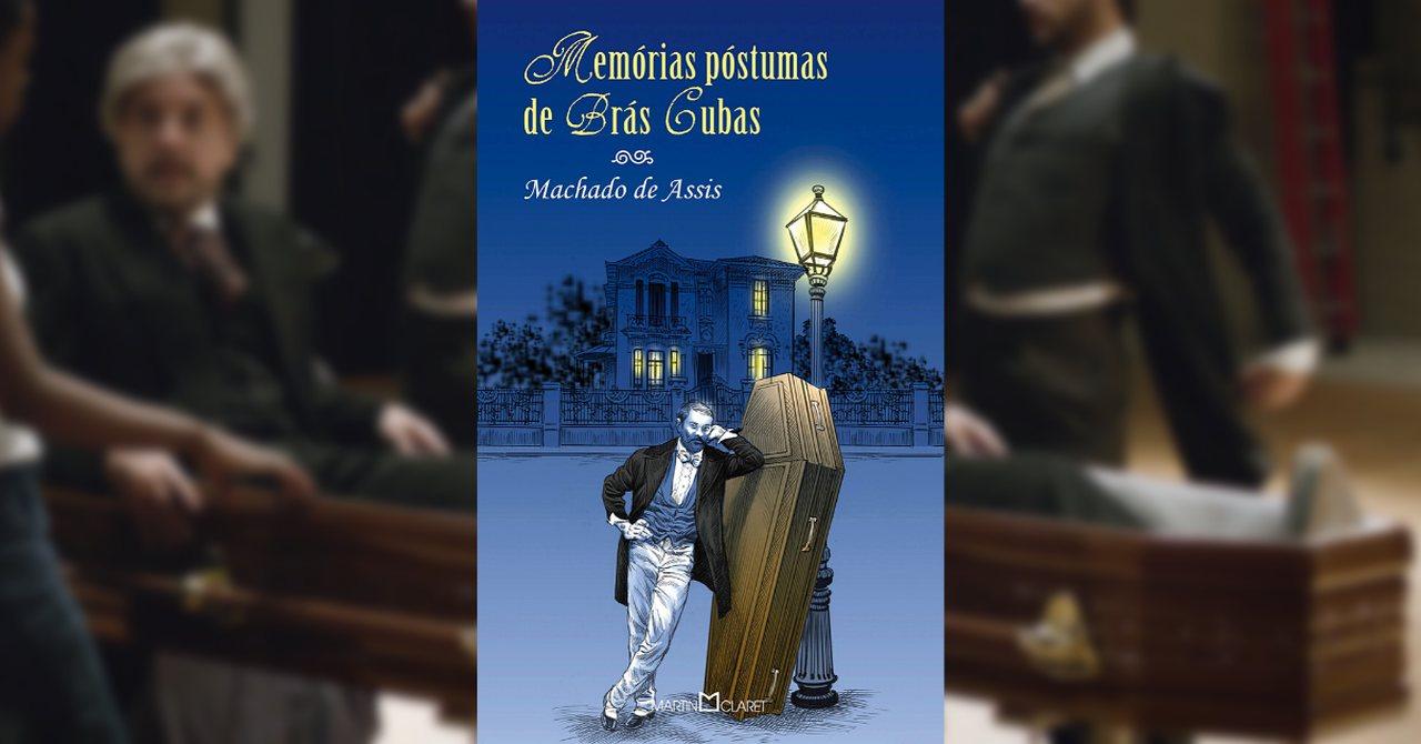 Memórias Póstumas de Brás Cubas na lista dos melhores livros de Machado de Assis