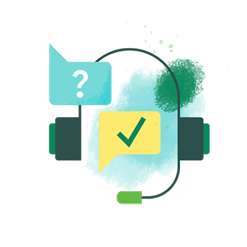 Trusted support illustration