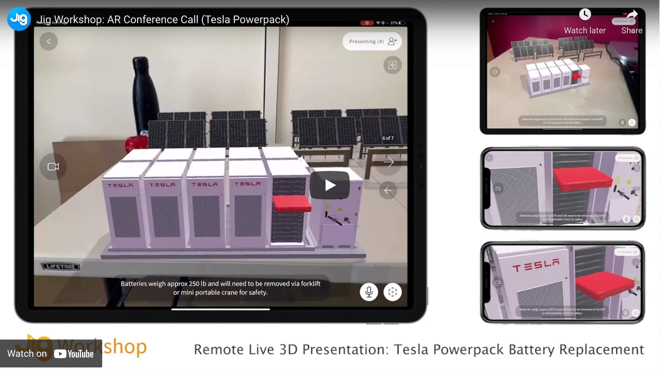 Remote augmented reality presentations are now available