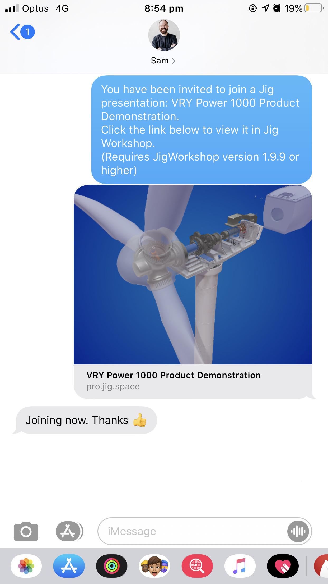 Remote-AR_5_iMessage_Jig-Workshop_Wind-Turbine