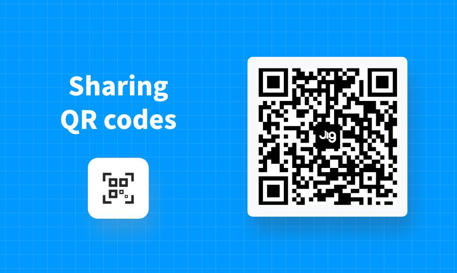 Sharing QR Codes
