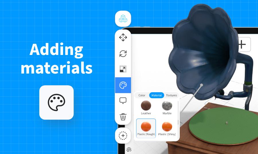 Adding Materials