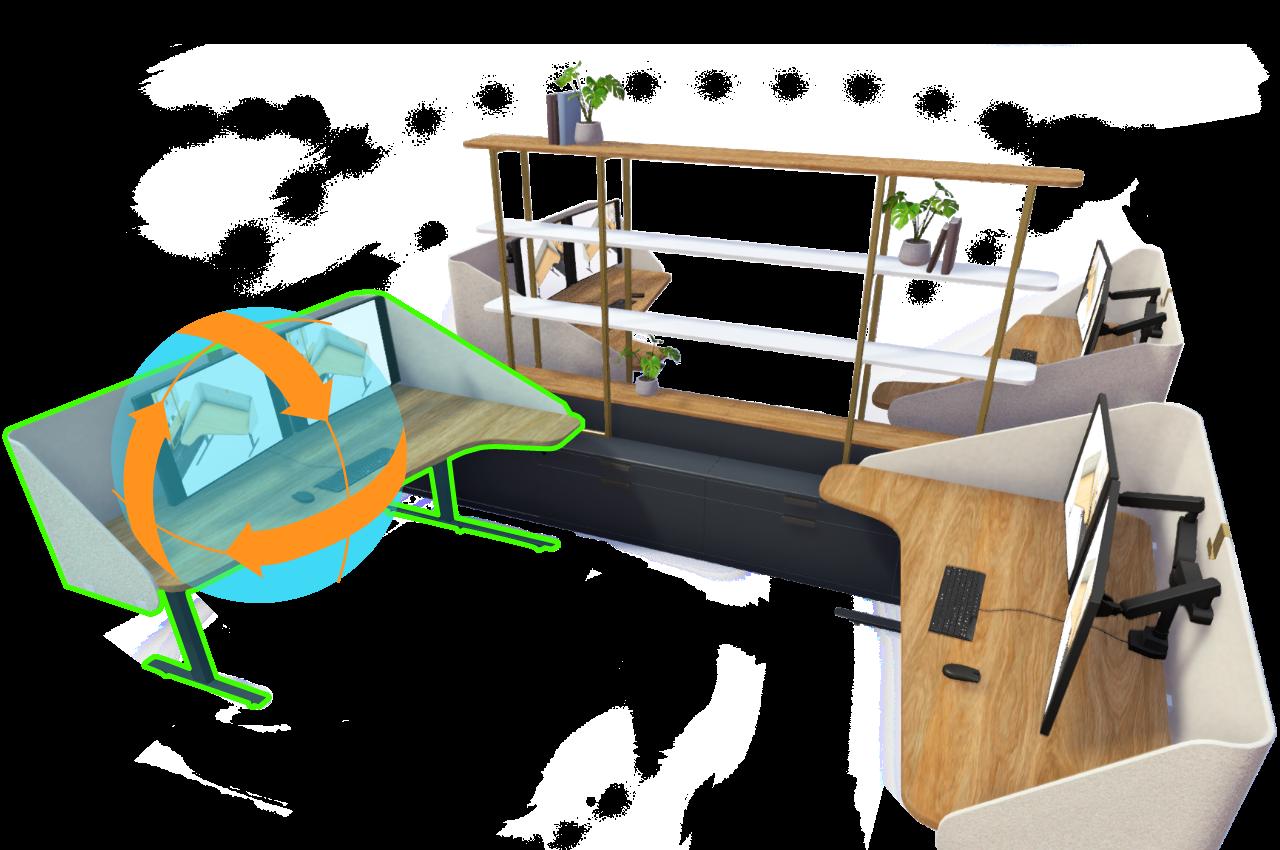 A 3D model