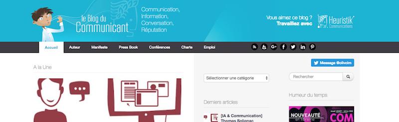 Le blog du communiquant 2.0