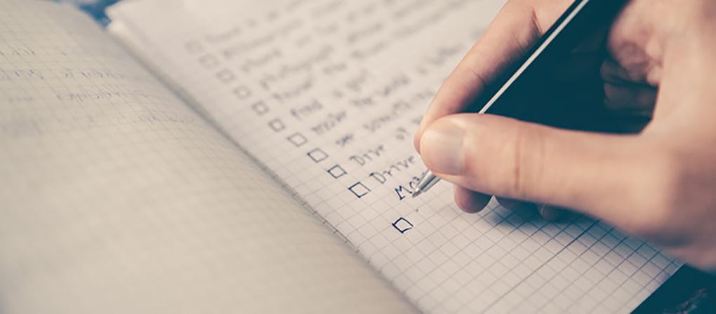 Checklist CRM