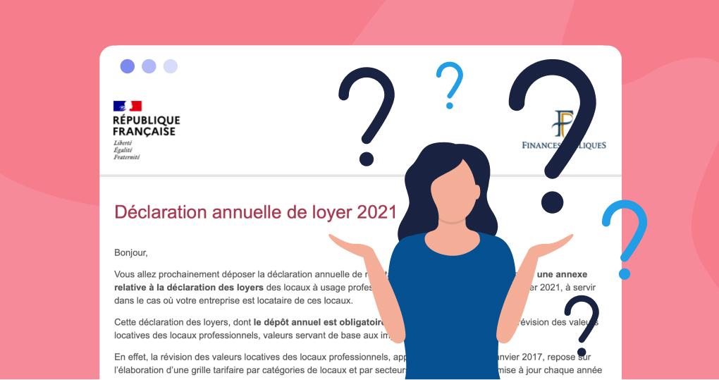 Déclaration de loyer 2021