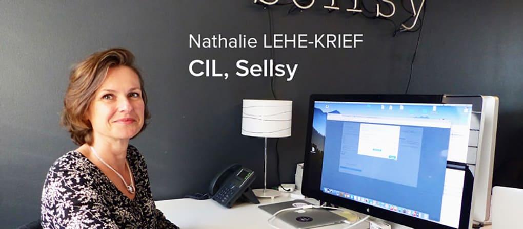 Nathalie, CIL Sellsy