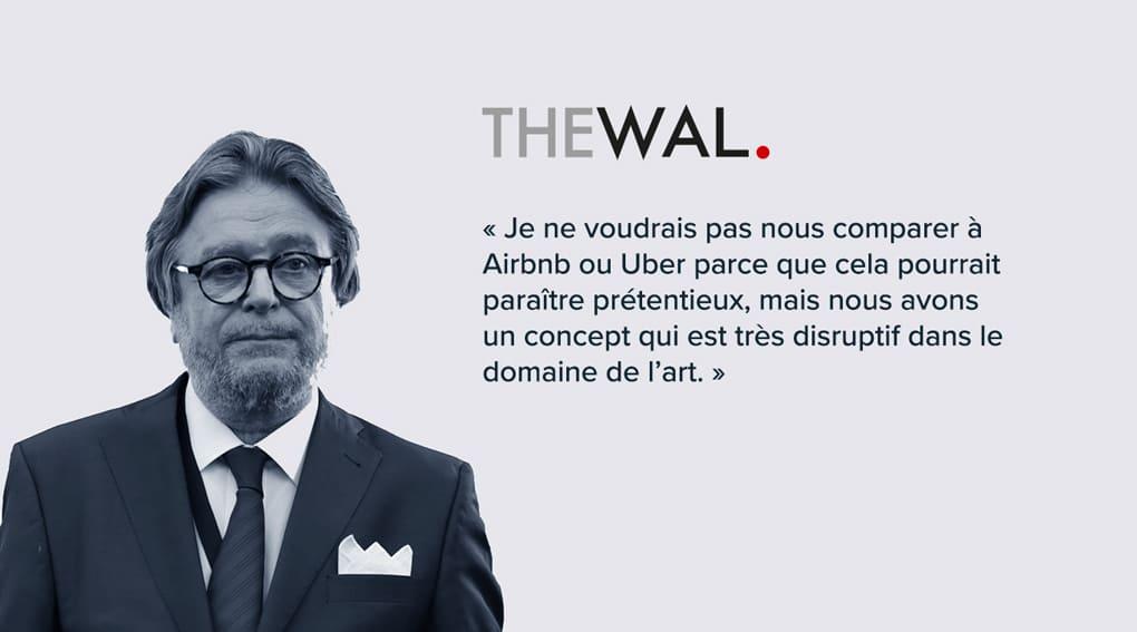 Jean-Daniel Compain, l'éternel optimiste qui emmène les galeries d'art au bout du monde