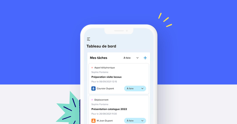 La nouvelle version de Sellsy Mobile est disponible dès maintenant sur l'App Store et Google Play