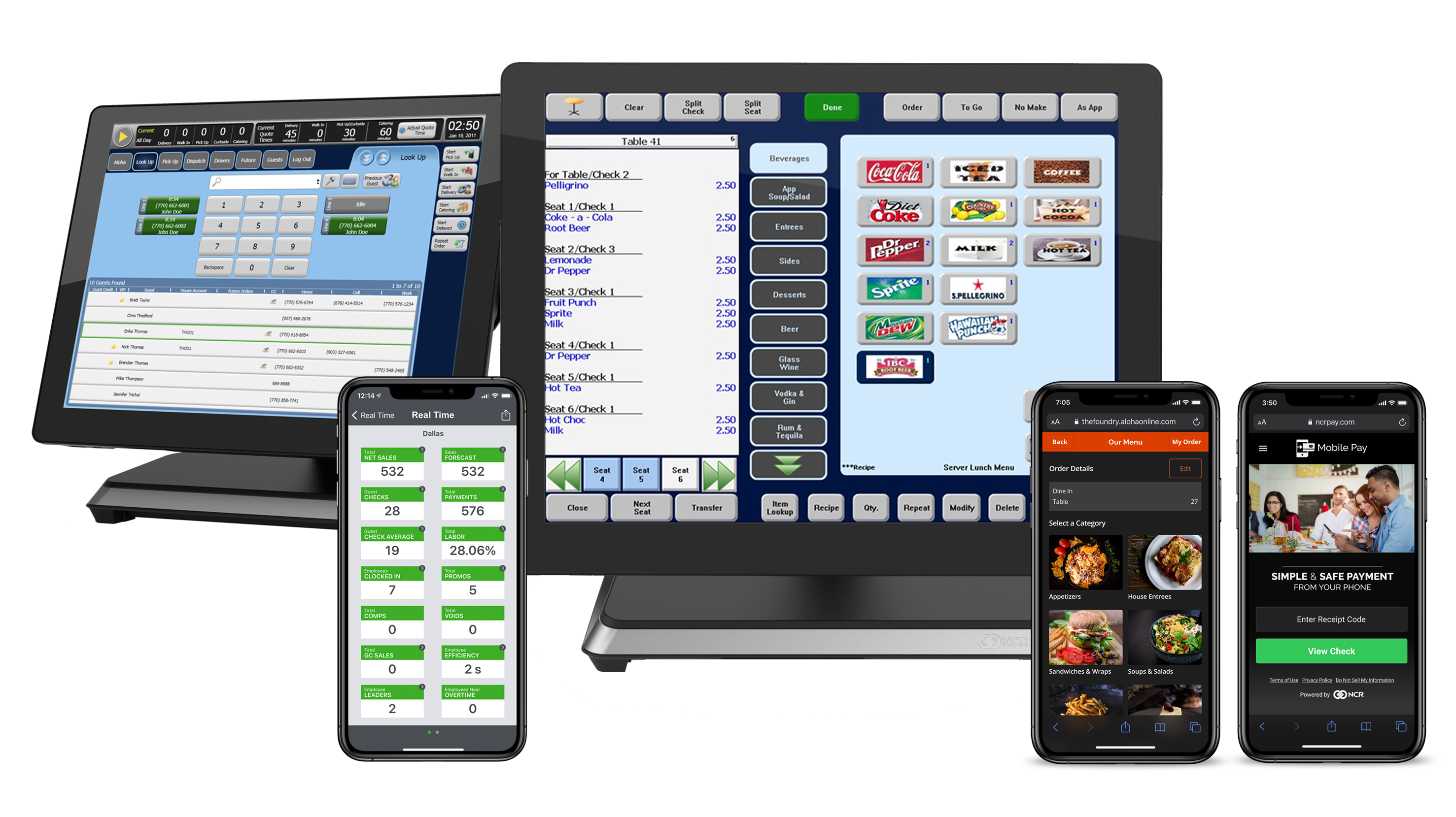 Aloha Essentials Order Pay System